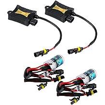 Luces Xenon Slim centralitas lámparas Kit HID H76000K 35W Coche Blanco Hielo