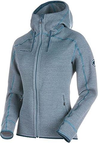 Mammut Arctic Hooded ML Women's Jacket fog/aqua melange XS