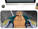 Tappeti di mouse per gamers One Piece Fumatore Anime Personaggio Esteso Superficie Liscia Tastiera Adatto Per I Giocatori Size A