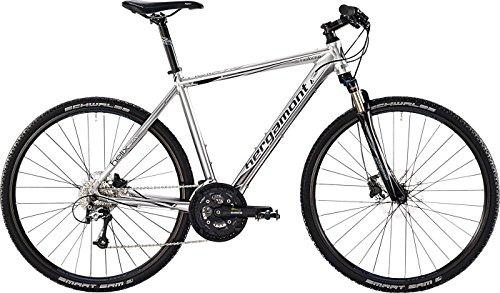 Bergamont Helix 7.0 Cross Trekking Herren Fahrrad silber/schwarz/grau 2015: Größe: 56cm (178-186cm)