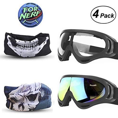 FINAL BASE Goggles 2 Pack Mask Pack 2 máscaras Nerf