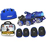 Jaspo Kids Delite Intact junior Skates Combo (skates+helmet+knee+elbow+bag)suitable for age upto 5 years