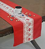 #10: Heart Print Table Runner