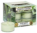 Yankee Candle Candele per la Luce del Tè, Aloe Water
