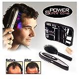 tradeshoptraesio®–Brosse Peigne Laser Anti chute cheveux électronique Grow Comb pour homme femme