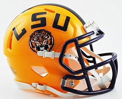 NCAA Louisiana State Tigers Speed Mini Helmet