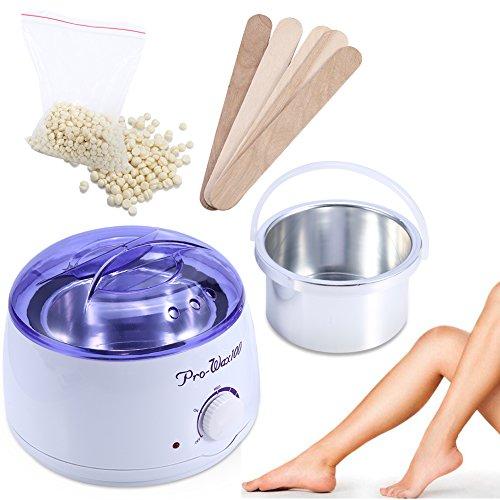 Calentador cera depilación + 100 g Frijoles cera