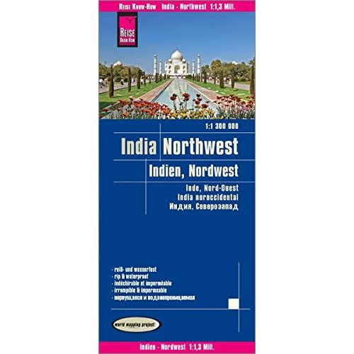 Inde, nord-ouest : 1/1 300 000