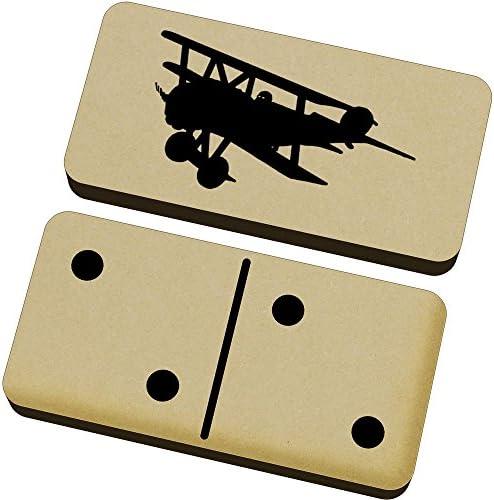 Azeeda Azeeda Azeeda 'Triplan de WW1' Domino Jeu et Boîte (DM00014062) B06XH5M1K5 e15b80