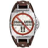 Fossil orologio Band Swing Arm Band LB di ch3004ricambio originali Band CH 3004Orologio Bracciale in pelle 22mm Marrone