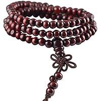 ZooBoo Sandelholz Wickelarmband Buddhistische Gebetskette - Traditionell Buddhismus Taoismus Glücksbringer Perlenarmband... preisvergleich bei billige-tabletten.eu