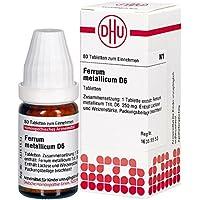 Ferrum Metallicum D 6 Tabletten 80 stk preisvergleich bei billige-tabletten.eu