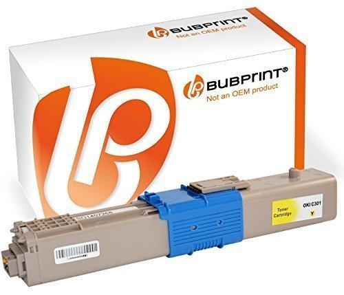Preisvergleich Produktbild Bubprint Toner kompatibel für OKI C301 C301DN C321 C321DN MC332 MC332DN MC340 MC342 MC342DN MC342DNW 44973533 1500 Seiten Yellow Gelb
