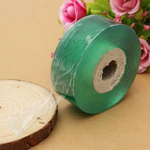 Huyizhi Gerät Pfropfen Stretchable Tape Barrier Pflanze Reparatur Klar Floristik Film Gartengeräte (100 M x 2 cm)