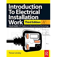 Introduction to Electrical Installation Work, 3rd ed