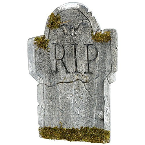 Generique - Halloween-Dekoration, Grabstein mit der Aufschrift Rip