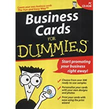 Business Cards for Dummies