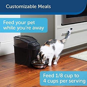 PetSafe - Distributeur Automatique de Croquettes pour Chiens et Chats 5.6L - Programmable jusqu'à 12 Repas/Jour avec Ecran LCD