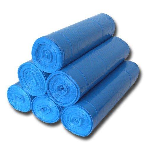 500ST. Sacchi Immondizia sacchi Blu 70x 110cm 120litri