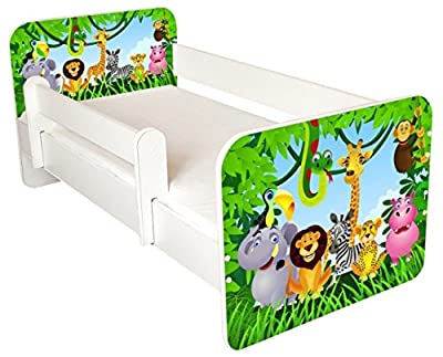 Toddler Bed With Free Mattress - low-cost UK light shop.