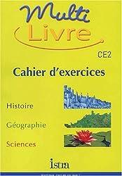 Multi livre CE2. : Cahier d'exercices