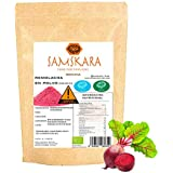 Remolacha en Polvo Ecolóogico | SAMSKARA SUPERFOODS | Organic Certified Beetroot Powder | BIO Algae (250gr)
