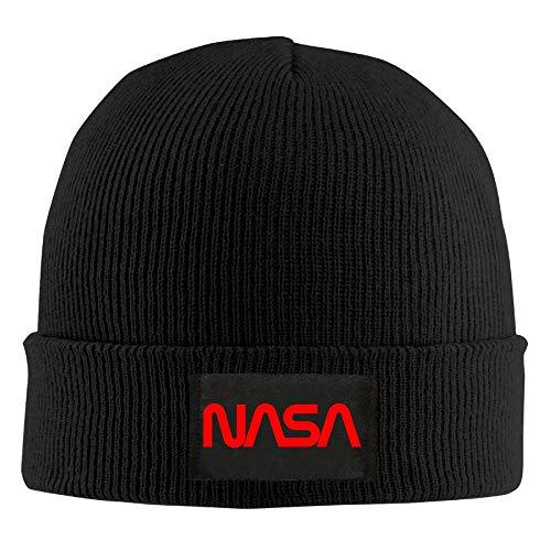 DHNKW NASA Logo 1 Man Women Unisex Winter Warm Watch Knit Wool Beanie Cap  Hat Size 01c0bdd31e32