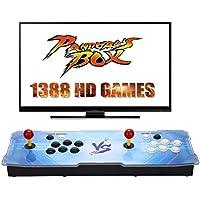GroGoo [1388 HD Arcade Games] Arcade Video Game Console 1388 Retro Juegos Pandora's Box 5s Plus Arcade Machine Doble Arcade Joystick Built-in Speaker
