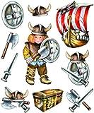 stickerko enig adhesivo 3d pared para habitación de los Niños XXL Set–Vikingo Set