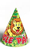 Funcart Jungle Party theme party cone ca...
