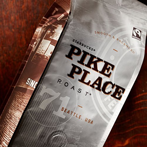 Starbucks Pike Place Roast - Medium Roast Whole Bean 100% Arabica Coffee