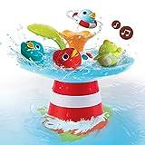 Wasserspiel Entenrennen mit Musik