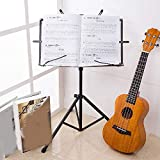 Foldable Small Music Stand Tripod Stand Holder Musical Instrument