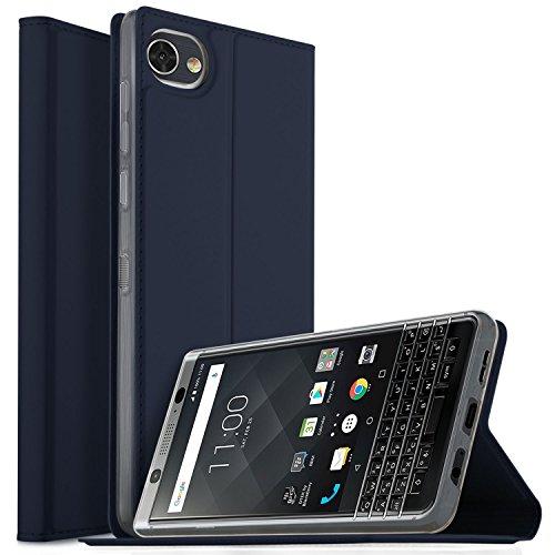 Wileyfox Spark + Add-X Hülle, iBetter Wileyfox Spark + Add-X Flip Bookstyle Kompletter Hüllen Mit Magnetverschluss und Standfunktion Tasche Etui Hüllen Schutzhülle für Wileyfox Spark + Add-X Smartphone (Blau)
