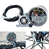 GEZICHTA Vélo Compteur de Vitesse mécanique, mécanique Classique Route de Montagne Vélo Compteur de Vitesse, vélo Odomètre Chronomètre étanche Compteur de...