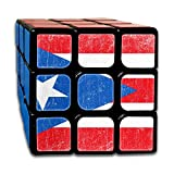 Nicegift Vintage Puerto Rico Flag 3x3 Smooth Speed Magic Rubiks Cube...