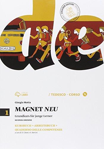 Magnet neu. Kursbuck-Arbeitsbuch-Quaderno delle competenze. Per la Scuola media. Con CD Audio formato MP3. Con espansione online: 1