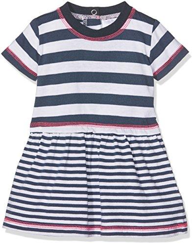 Twins Baby-Mädchen Kleid, Mehrfarbig (navy-(blau/weiß 3200), 86