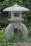 Oki-Gata (S206013) Japanische Laternen Gartenlampen Gartenlicht Steinguss 62 cm