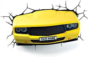 3D Light FX 3D Muscle Car Light - Yellow