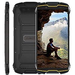Cubot Kingkong Mini 4G Outdoor Smartphone ohne Vertrag 4 Zoll QHD Display Wasserdicht Stoßfest und Staubdicht 32GB interne Speicher 13.0 Megapixel Kamera Android 9.0 (Orange)