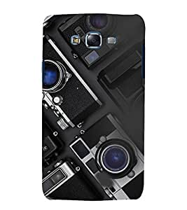 printtech Cameras Design Back Case Cover for Samsung Galaxy E5 / Samsung Galaxy E5 E500F