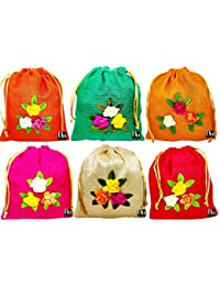 Bombay Haat Women's Potli (Set of 6)