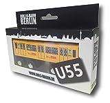 Holz U-Bahn Berlin Linie U55