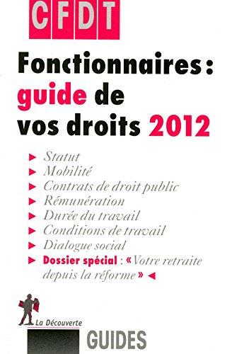 FONCTIONNAIRES GUIDE DROITS 12
