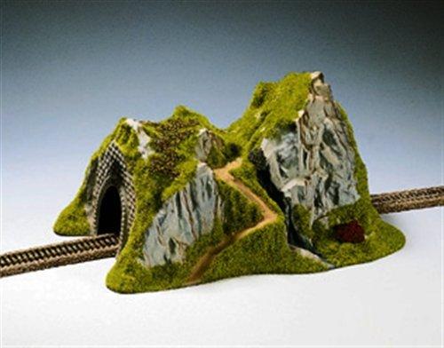 Noch 48670 - modellismo ferroviario, tunnel di montagna, binario dritto
