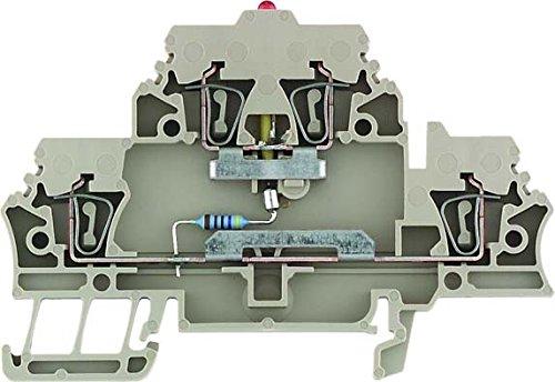 Weidmüller Klemme mit Einbau ZDK 2.5/LD RT/1 Durchgangs-Reihenklemme 4008190898274