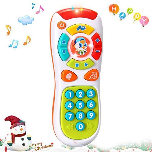 (ACTRINIC Multifunktionen,Lichtern und Musik,Klicken und Zählen Fernbedienung,Beste Geschenke für Frühe Pädagogische Baby-Spielzeug für 1-Jährig für Kleinkinder,Jungen und Mädchen)