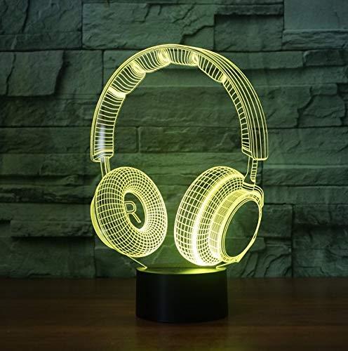 Rulaifozhu Música Auriculares dinámicos Figura acción