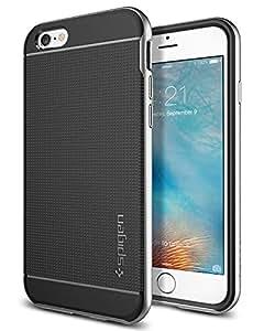 iPhone 6S/6 Case, Spigen iPhone 6S/6 Case Neo Hybrid (Satin Silver) SGP11620